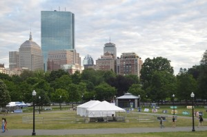 Boston desde el Common